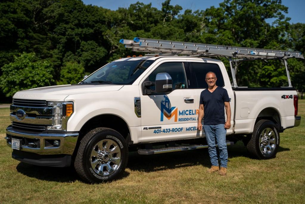 Owner Jon with Miceli Truck